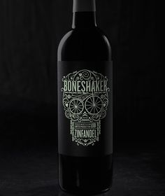 "Glow in the Dark Wine Label.  Doesn't this look a lot alike ""Dearly Beloved"" I just pinned? PD"