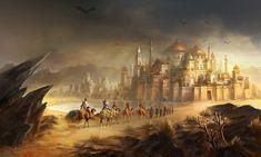 arabian city concept art - Google Search