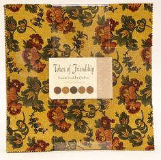 NEW  TOKEN of FRIENDSHIP  Layer Cake by Kansas by WeDoQuilts, $29.95