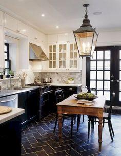 French country kitchen design & decor ideas (15)