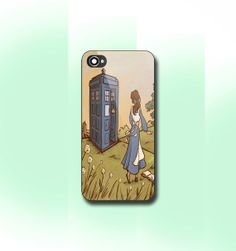 Belle Tardis iPhone 4/4S case iPhone 5 CaseiPhone5c by CaseByViona, $13.99