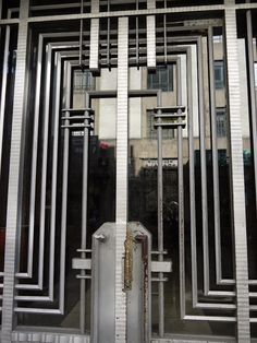 """Mexico City Art Deco - """"you can find it everywhere"""" Art Deco Buildings, City Buildings, Visiting Mexico City, External Lighting, Stone Columns, White Building, City Art, Geometric Designs, Ground Floor"""