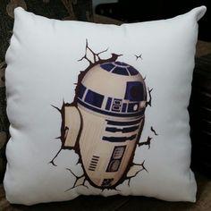 Almofada Star Wars R2D2 35x35