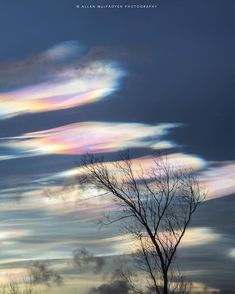 Fantastical Rainbow Clouds Dust the Skies at Sunset in the UK - My Modern Met