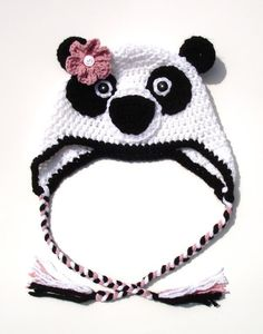 Panda Bear Hat - This one should be pretty easy to figure out.