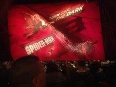 about to watch Spider Man show in NYC Shows In Nyc, New York Pictures, Short Trip, The Darkest, Spiderman, Neon Signs, Watch, Spider Man, Clock