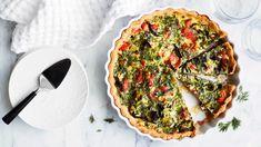 Lohi-purjopiirakka | Suolaiset leivonnaiset | Yhteishyvä