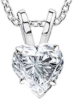 1/2 Carat GIA Certified Solitaire Heart Cut Diamond Pendant (0.5 Ct I-J Color, VS1-VS2 Clarity) w/Gold Chain #necklacependantgold #pendantdiy #pendantjewelry #pendantnecklacediy #pendantnecklacediamond #necklacependantdiamond #pendantwhitegold #pendantnecklace #diyjewelrypendant #beadnecklace #pendant #necklace #jewelrypendants #necklacependantdiy #necklacependantsilver #necklacependantunique #pendantnecklaceunique #simplependantnecklace #diypendantnecklace #diynecklacependant… Diamond Pendant Necklace, Diamond Jewelry, Love Knot Ring, Ruby Earrings, Diamond Heart, Gold Heart, Conflict Free Diamonds, Gold Chains, Rose