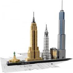 ToyzMag.com » LEGO Architecture : nouveautés 2016