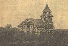 Igreja Luterna de Curitiba - Em 1876 construiu-se a primeira igreja propriamente dita, um prédio de madeira, com arquitetura germânica.