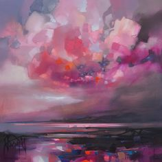 Dispersing Magenta by Scott Naismith
