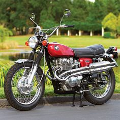 Restored to Ride: The 1968 Honda CL450 - Classic Japanese Motorcycles - Motorcycle Classics