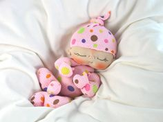 The Cuddle BeBe Cloth Baby Doll by BEBE BABIES by casienipper