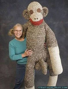 So wrong so wrong..... Imagine how long it took her to make this!!!! You could have gone out and met a real man in that time!