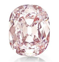 THE PRINCIE DIAMOND   An historic cushion-cut fancy intense pink diamond, weighing approximately 34.65 carats  With report 5111433470 dated 25 November 2009 from the Gemological Institute of America stating that the diamond is fancy intense pink, natural color, VS2 clarity [Contrast slightly enhanced]