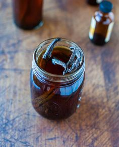 Homemade Vanilla Extract saves money and is perfect for all of your holiday baking needs!