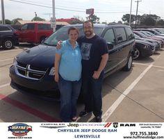 #HappyAnniversary to John Wade on your 2014 #Dodge #Grand Caravan from David Jones at Huffines Chrysler Jeep Dodge Ram Lewisville!