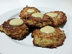 """Kai's Cauliflower Cakes - """"very good. I will be making them again :cookie"""" @allthecooks #recipe"""