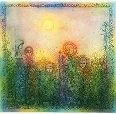 Gross_virágok Illustration Art, Illustrations, Paintings, Artists, Album, Vintage, Illustration, Painting Art, Artist