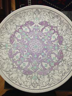 Turkish Tiles, Turkish Art, Ceramic Clay, Ceramic Plates, Glazes For Pottery, Ceramic Pottery, Tile Patterns, Pattern Art, Islamic Art Pattern