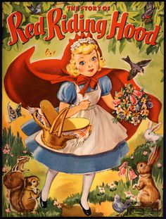 """Merrill Archive Copy """"THE Story OF Little RED Riding Hood"""""""