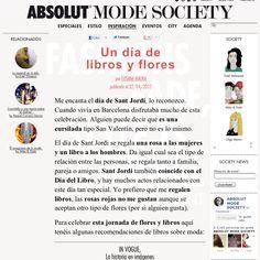 Nuevo post en AMS sobre flores y libros!  http://www.absolutmodesociety.com/inspiracion/un-dia-de-libros-y-flores/