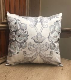 Gray Pillow Cover, Pale Blue Pillow, Throw Pillows, Sofa Pillows, Chair Pillows, Pillow Covers ONLY, Contemporary Pillows Grey Pillow Covers, Grey Pillows, Sofa Throw Pillows, Contemporary Pillow Covers, Chair Pillow, Pillow Forms, Modern Decor, Gray, Hobby Lobby