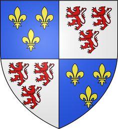 Blason région fr Picardie - Histoire de la Picardie — Wikipédia