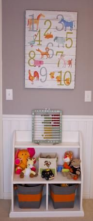 Vibrant Orange, White and Gray Baby Room, I was looking for a vibrant gender neutral color scheme to decorate my baby boys room. I also want...