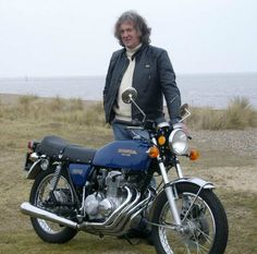 James May and motorbikes...two favorite things.