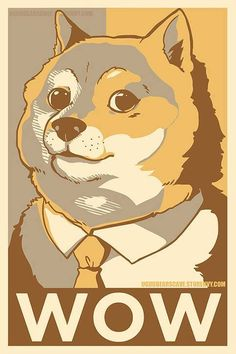 Doge - I love this meme, and I don't care who knows.  Such awesome.-->love that