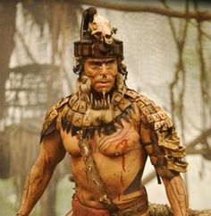 Apocalypto: One of the actors from this movie. Many actors were actual native people with no acting experience. Wonderful movie about the Mayan culture from Mr. Raoul Trujillo, Ancient Art, Ancient History, Ancient Beauty, Aztec Drawing, Aztec Culture, Tribal Warrior, Inka, Aztec Art