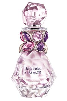 "Vera Wang unveils her new fragrance. VIDEO: The legendary designer talks about Vera Wang Be Jeweled and why ""fragrance is the most sensual accessory"" Perfume Parfum, Parfum Chanel, Perfume Diesel, Best Perfume, Parfum Spray, Perfume Bottles, Pink Perfume, Balenciaga Perfume, Perfume Collection"
