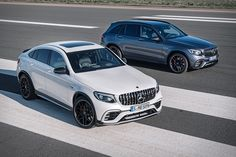 You don't need to wait for the Mercedes-AMG GT Concept to become a reality to enjoy the same power with the convenience of four doors. The Mercedes-AMG GLC63 uses the same handcrafted AMG 4.0L V8 Biturbo engine to deliver solid...