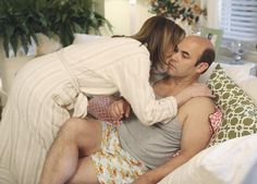 Still of Ian Gomez and Christa Miller in Cougar Town