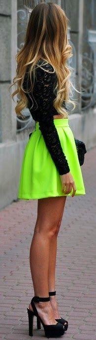 Neon Fashion Trend 2014