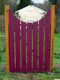 How to make your own curved wooden garden gate (tutorial)