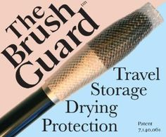 The Brush Guard Variety Pack http://travelfashiongirl.com/shop #travel #beauty #tips