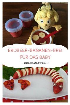 Babybrei mit Erdbeeren und Banane einfach so oder kombiniert mit Getreide als Abendbrei oder am Nachmittag. Dieses Rezept für fruchtigen Obstbrei eignet sich nicht nur für das Baby sondern auch als Dessert oder Erdbeersosse zu Milchreis & Eis richtig gut. Aber schaut selbst: http://www.breirezept.de/rezept_erdbeer-bananen-brei.html