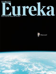 Eureka magazine, June 2011 art work Magazine cover graphic art