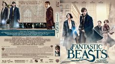 Fantastic Beasts and Where to Find Them Blu-ray Custom Cover