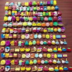 Wholesale Hot Real 50 pcs Shopkins Toys birthday Gifts for children Shopkins…