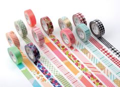 washi tapes your life. Some washi tape ideas