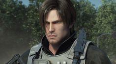 Leon Resident Evil, Resident Evil Damnation, Resident Evil Anime, 7 Month Old Baby, Leon S Kennedy, Video Game Movies, Ghost Bc, Luke Evans, Jawline