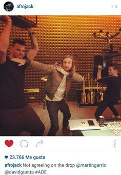 Afrojack, David Guetta & Martin Garrix