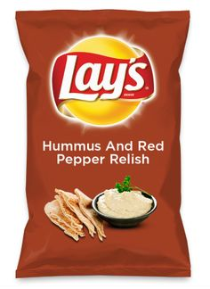 Wouldn't Hummus And Red Pepper Relish be yummy as a chip? Lay's Do Us A Flavor is back, and the search is on for the yummiest flavor idea. Create a flavor, choose a chip and you could win $1 million! https://www.dousaflavor.com See Rules.