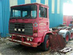 ERF was a British truck manufacturer. Ashok Leyland, Old Lorries, Truck Design, Abandoned Cars, Commercial Vehicle, Diesel Trucks, Peterbilt, Classic Trucks, Semi Trucks