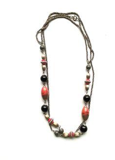 Halskette Für Sie gefunden: Traumhafte Kette mit Anhänger - Original Modeschmuck der 60-ziger Art.-Nr.RHK 1012 Da es sich nicht um neue Ware (Antiquitäten) handelt, gibt es das Produkt in der Regel nur als Einzelstück.