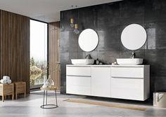 Modna łazienka: 12 kolekcji mebli - Galeria - Dobrzemieszkaj.pl Vanity, Mirror, Bathroom, Lofty, Furniture, Design, Home Decor, Google, Products