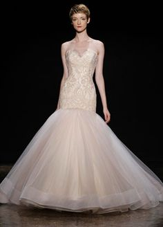 Bridal Gowns, Wedding Dresses by Lazaro - Spring 2014 Collection - JLM Couture